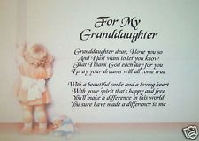 poem to a granddaughter from a grandmother - Google Search