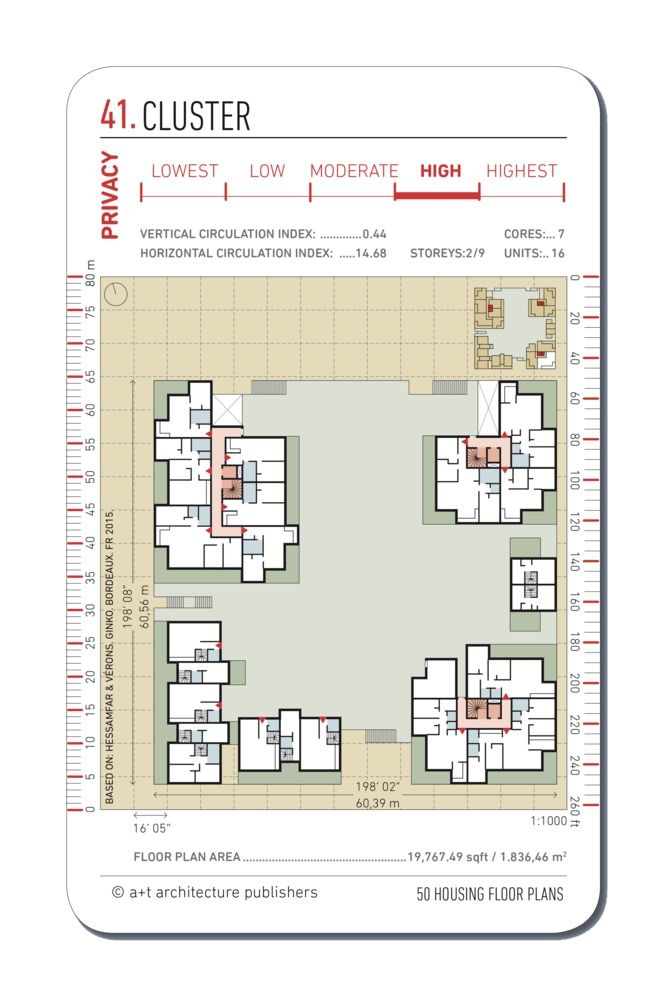 Gallery Of 20 Examples Of Floor Plans For Social Housing 14 Floor Plans Social Housing How To Plan