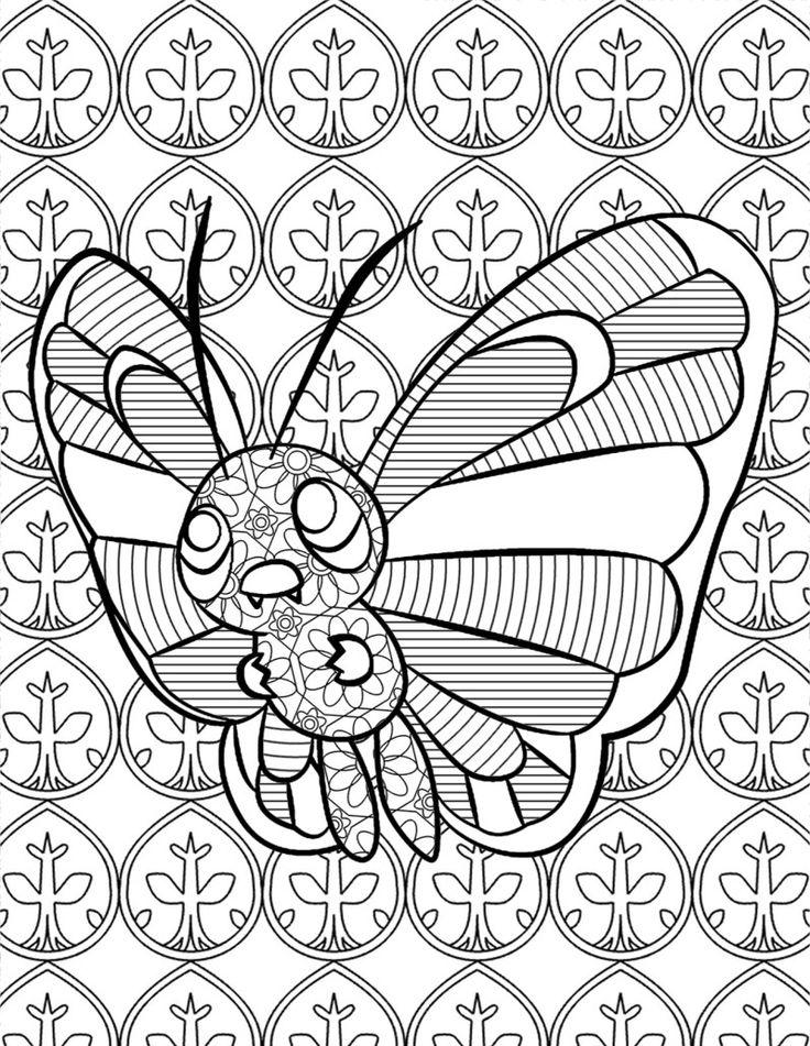 Mlarbilder Fr Vuxna Barn Mlarbok Mlarbcker Pokemon PrintablesPokemon Coloring PagesColor