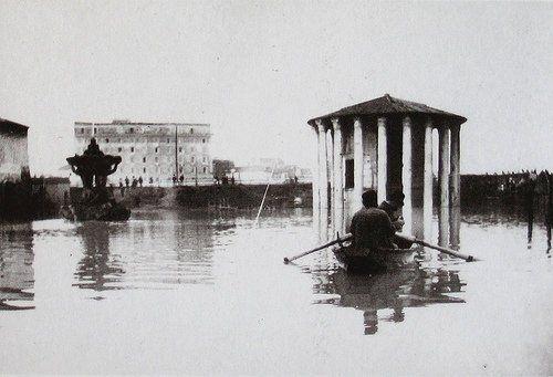 ROMA ALLUVIONE EL 1900