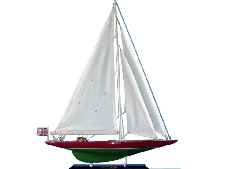This Wooden Endeavour 2 Limited Model Sailboat Decoration 27 Is The Perfect  Addition To Any Sealife Themed Home.