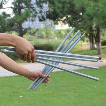 จัดส่งฟรี  High Quality Outdoor Ultralight Aluminium Alloy Sun Shelter SupportRod Pole tarp poles 2M - intl  ราคาเพียง  884 บาท  เท่านั้น คุณสมบัติ มีดังนี้ specification:200cm Stent material:iron tube Style features:Ultra-light