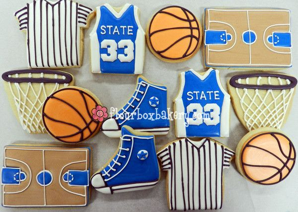 basketball cookies | Hoops Madness Basketball cookie collection