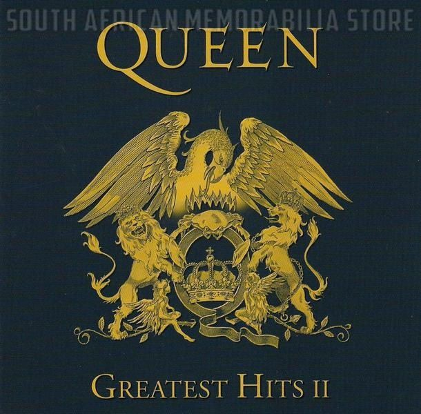 QUEEN FREDDIE MERCURY - Greatest Hits ll - South African CD STARCD7542 *New*