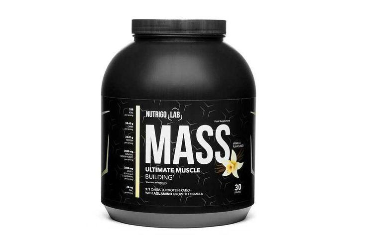 Nutrigo Lab MassBodybuilding in 2020 Gain muscle mass Best bodybuilding supplements Build