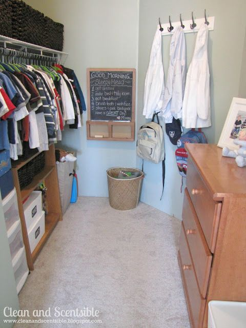 Clean & Scentsible: Organizing the Kids Closets
