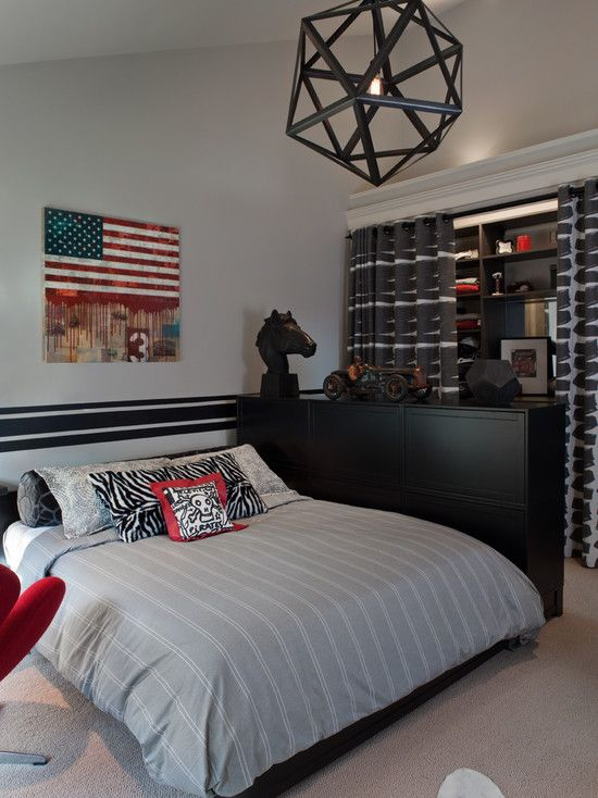 268 best Bedrooms - Teen Boys images on Pinterest | Child ... on Teenage Room Ideas Boy  id=93211