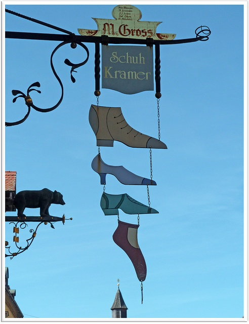 Great shoe store sign