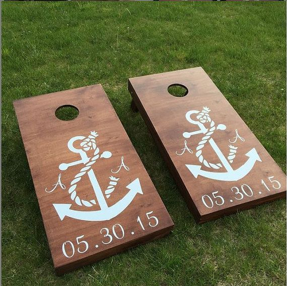High Quality Cornhole Boards For Sale!  Made to order, these boards are custom made and priced for you and your friends to enjoy for years.  America Cornhole Association regulated bags available at additional cost.