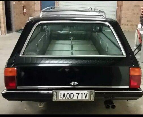 Ford XD Falcon hearse