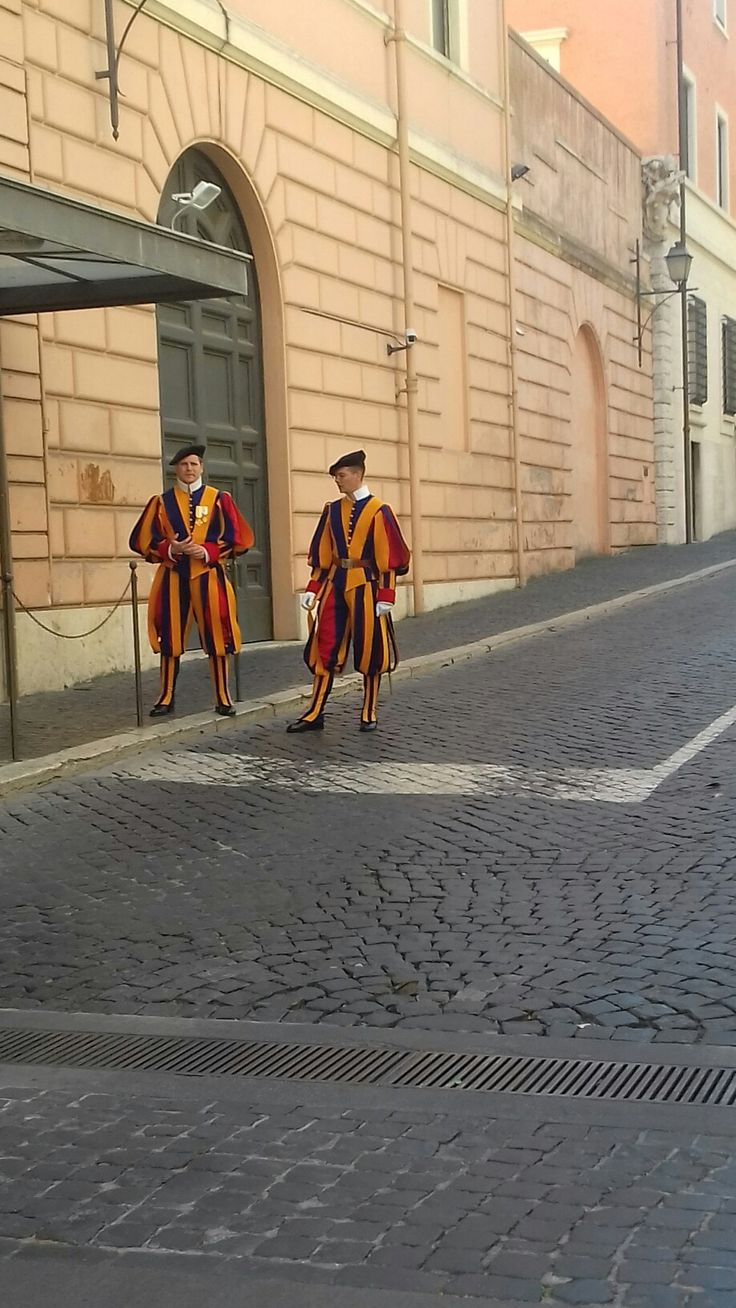 The Pope's guards...Rome