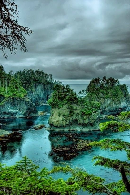 Nature:  #Nature ~ Cape Flattery, Washington, USA.