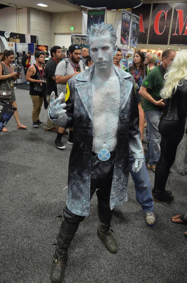 Iceman - X-men | Marvel costumes, Male cosplay, Best cosplay