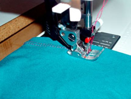 another good resource of tips for sewing with knits
