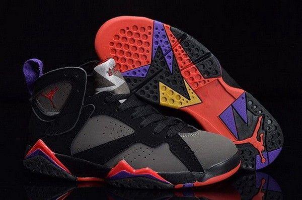 c4c6ed7cde65 Discount Air Jordan 7 Retro Defining Moments Black Dark Charcoal-True Red