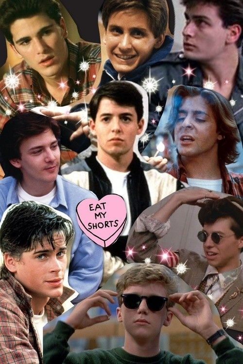 John Hughes Movies Forever! JH inspired music mix at this link, but I'm saving it for the collage full of dreamboats. <3