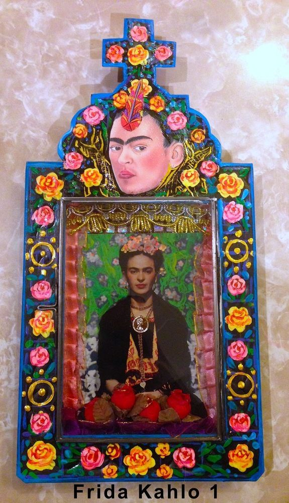 Frida Kahlo a perfect daily theme for October. Happy Monday (ugh!) Today we will pin the art and stylings of the FABULOUS FRIDA KAHLO!!!