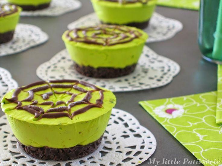 Cheesecake printanier { Menthe poivrée & Chocolat }