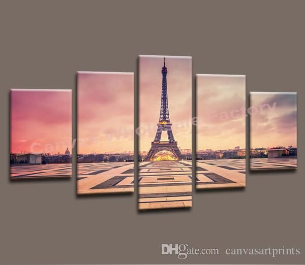 Wholesale cheap art prints online, Wall pictures for living room   - Find best  Wall Art Canvas Painting of Paris Eiffel Tower Wall Picture Decorative Print from Photo on Canvas for Home Decoration Modern Art at discount prices from Chinese Paintings supplier - canvasartprints on DHgate.com.