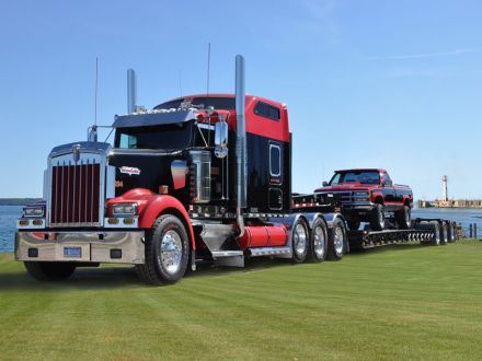 Girls with Big Rig Trucks | big rig truck show this event features about 75 gorgeous semi trucks ...