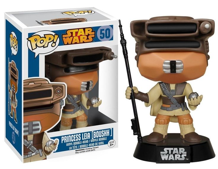 Funko Pop Star Wars 50 Princess Leia Vinyl Figure BOUSHH NIB The Force Awakens