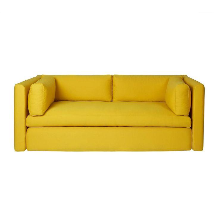 Schlafsofa gelb  Die besten 25+ Sofa gelb Ideen auf Pinterest | gelbe Couch, Gelbes ...