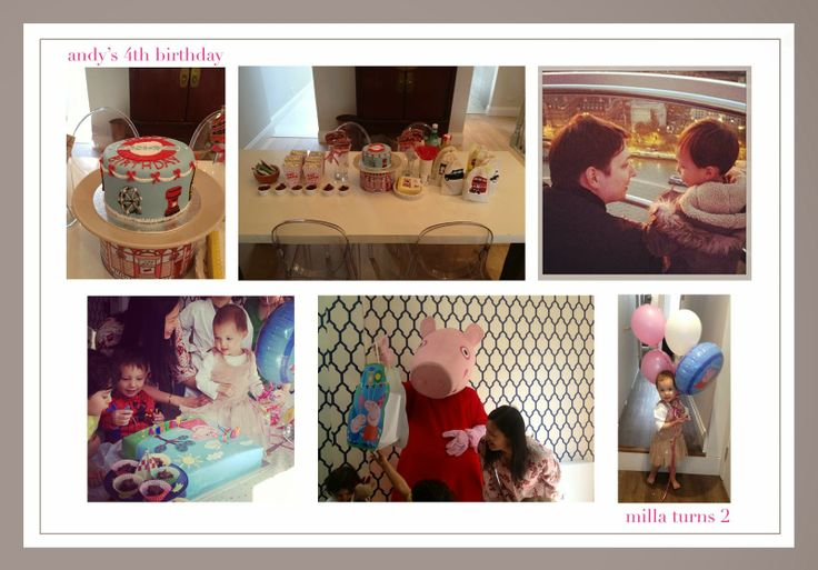 the missing blogger returns.... peppa pig birthday party london birthday party kids party