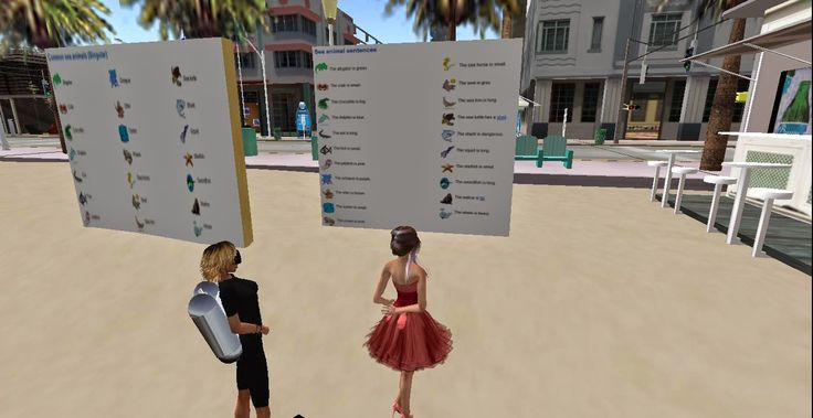 angličtina online Learn It Town: Beach