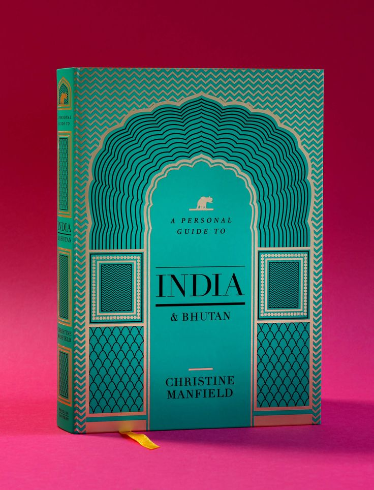 A Personal Guide to India and Bhutan – Christine Manfield / Design and illustration by Daniel New / Penguin / Lantern / Cookbook / Book Design / Cover