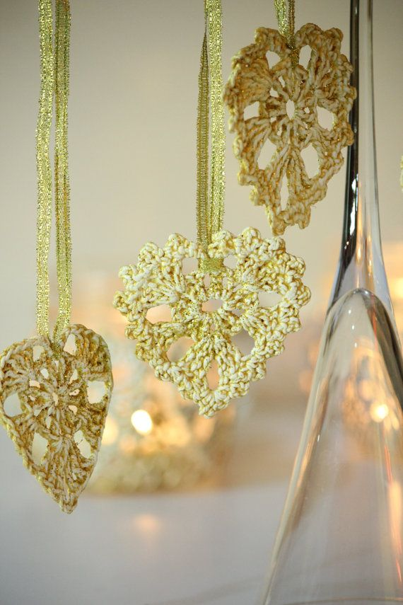 Hey, I found this really awesome Etsy listing at https://www.etsy.com/listing/220532334/crochet-golden-heart-ornaments-crochet