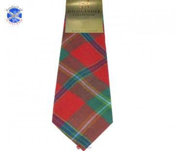 Connemara Irish Tartan Soft Pure Wool, Mens Tie £24.99
