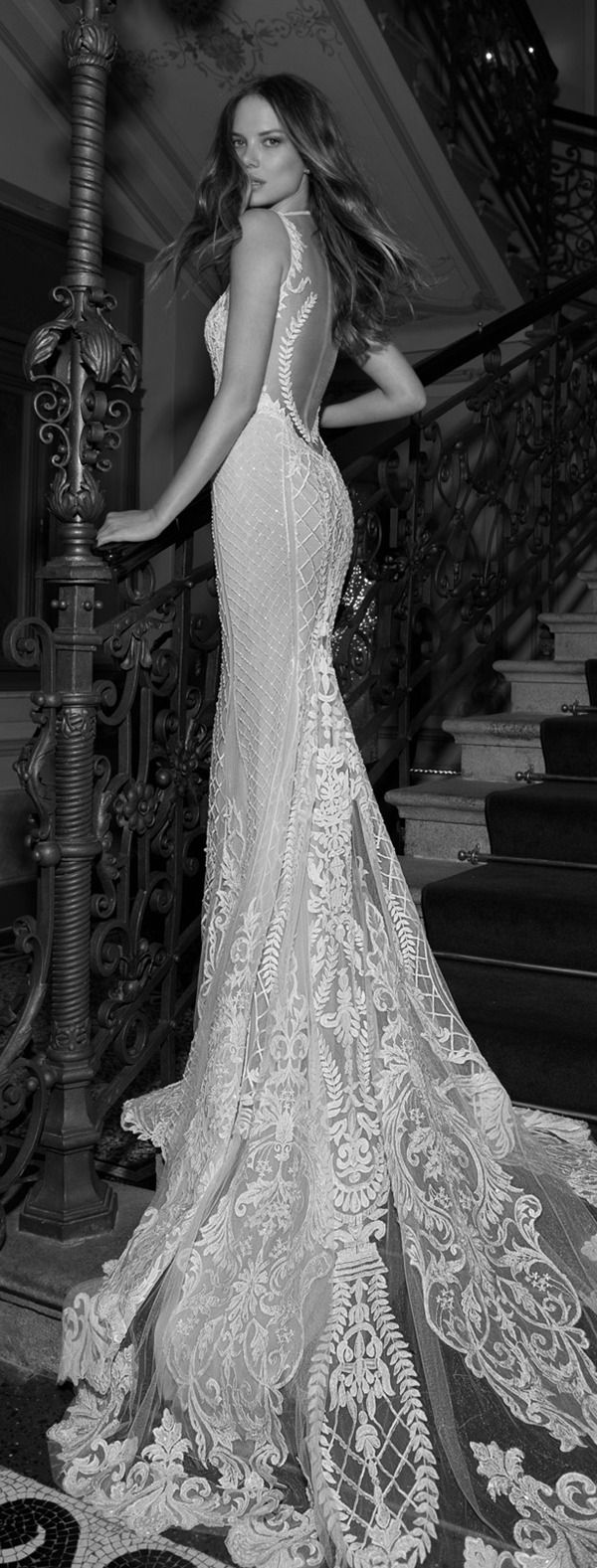 sexy chic mermaid vintage wedding dresses by berta bridal