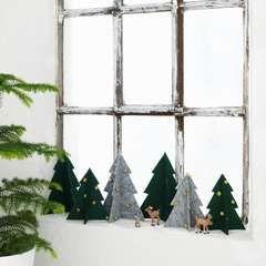 Julgranar av filt - Panduro Hobby