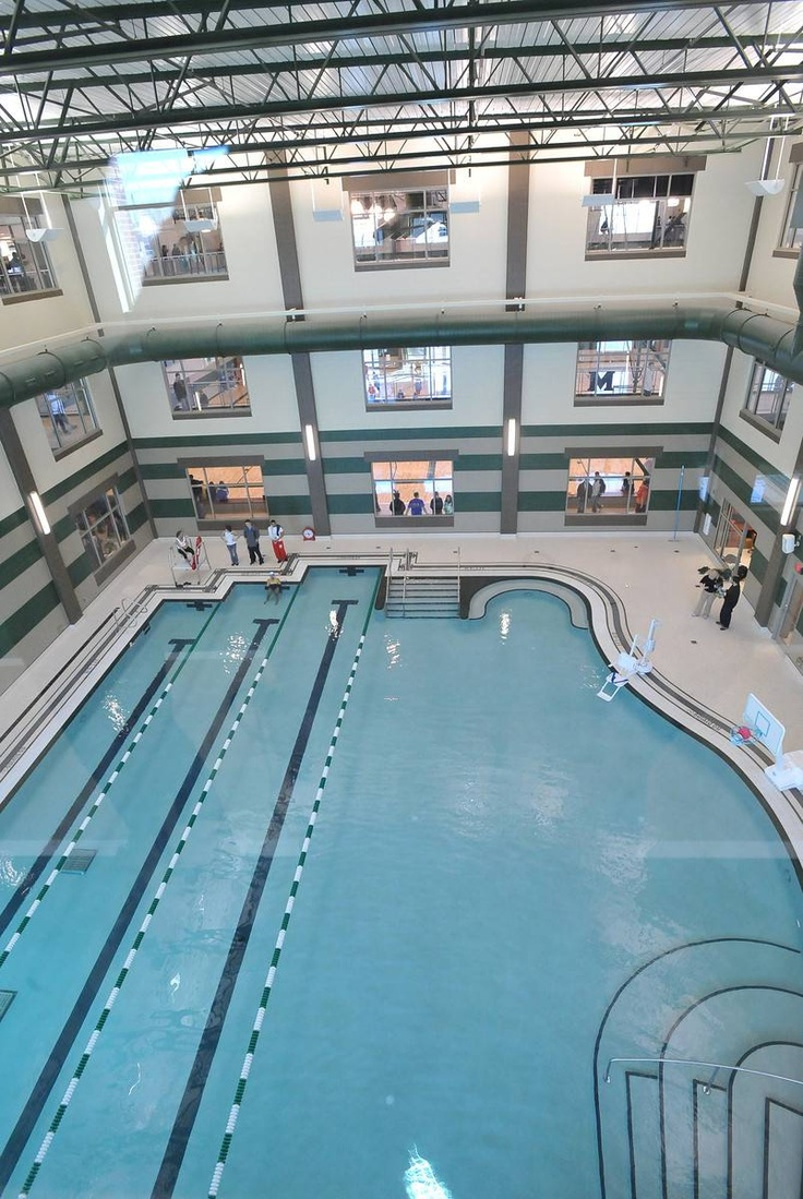 Marshall University Thundering Herd Swimming Pool On Campus Recreation Center Marshall