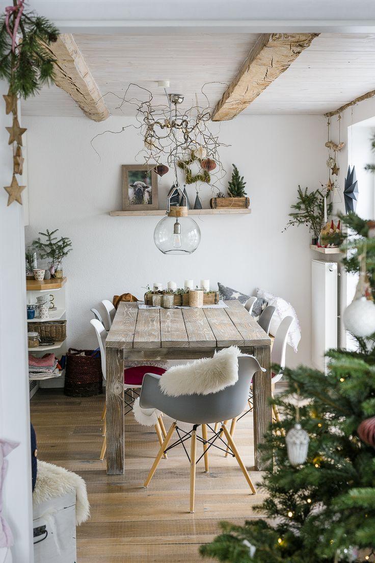 Weihnachtsbaum und Renovierungsarbeiten bei | Wohnung