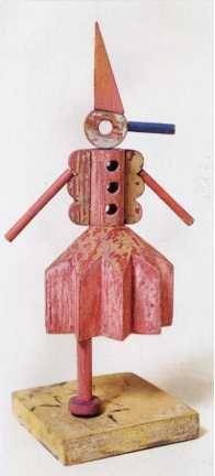 Model of Pinocchietto, by Fortunato Depero