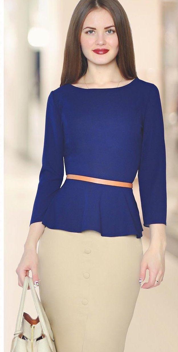 Офисный стиль/ офисная мода/ Элегантность/ Юбка-карандаш/ Кофта на баске/ Блузка на баске/ Стильный образ #rise #riseshop #fashion #look #fashionclothes #beauty #model #girl #photomodel #dress #nice #woman #clothes #womanclothes #fashionclothes #brand #2017 #интернетмагазин