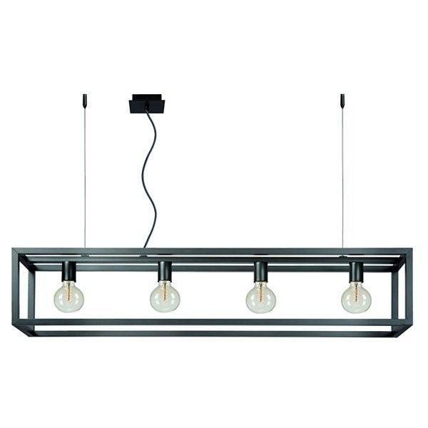 Lucide hanglamp Oris mat grijs