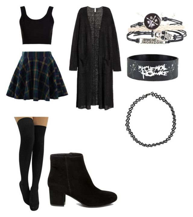 """""""Grunge Outfit"""" by dangerousmistake ❤ liked on Polyvore featuring Chicwish…"""