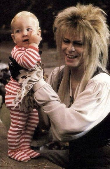 Labyrinth', Jareth and Toby | Bowie | Pinterest Labyrinth 1986 Sarah