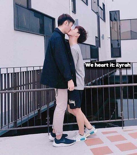 Imagem de couple, love, and ulzzang couple