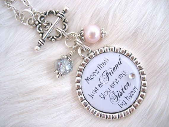 BRIDESMAIDS Sisters by Heart BEST FRIENDS by MyBlueSnowflake, $30.00