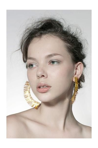 This handmade big eyelash earring made of 925 silver with 18K rose gold coating is something to impress your near or dear one. Isn't it...https://goo.gl/DiQpKA ?  #handmadeearrings #goldcoatingearring #fashionearring #looks #earringsforwomen #jewelrydesigns #Australia #Fashion #USA
