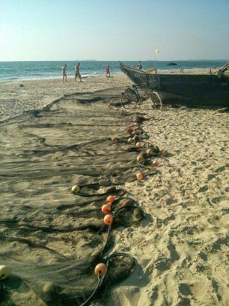 Южный Гоа, пляж Колва