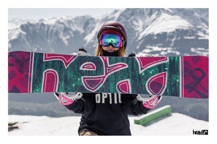 The Force i. Kers of the season 14/15 //Erika Fujihara //Season 2014-15 //ridehead //head snowboards