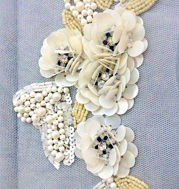 Текстуры в вышивках высокой моды - Ярмарка Мастеров - ручная работа, handmade
