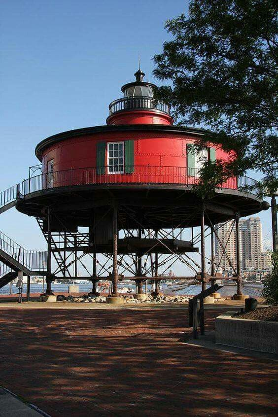 RED ROUND LIGHTHOUSE...