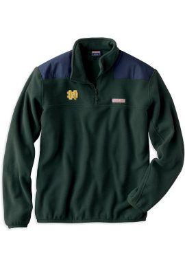F1304B Vineyard Vines Fleece Shep Shirt | University Of Notre Dame