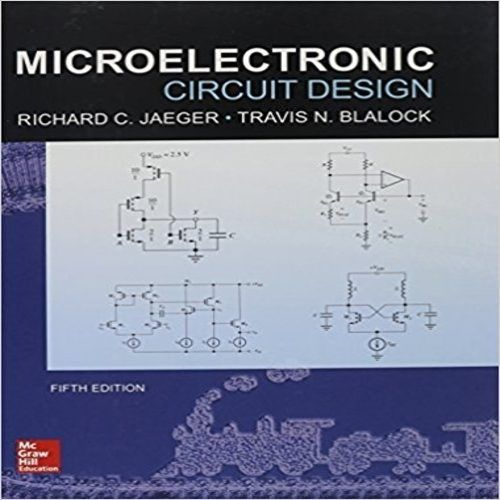 59 best solution manual images on pinterest manual textbook and solution manual for microelectronic circuit design 5th edition by jaeger and blalock fandeluxe Image collections