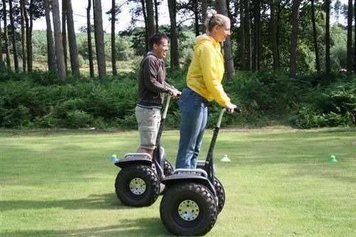 Segway -  A two wheeled self-balancing Personal Eco-friendly Transport